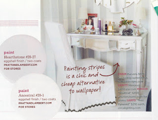 Dressing table in February 2007 Domino Magazine