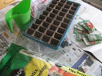 Supplies to start seeds from scratch