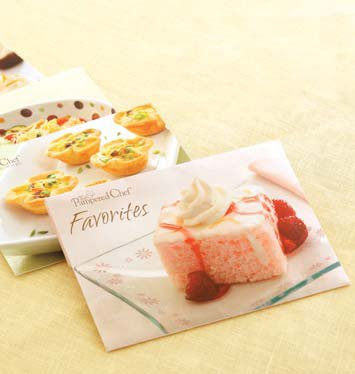 Pampered Chef Favourites Recipe Cards