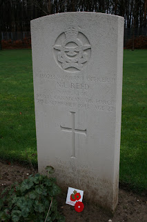 My uncle's grave at Rheinberg War Cemetary