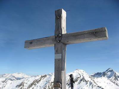 Gipfelkreuz Alpenspitze - Südtirol