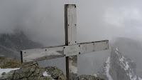 Gipfelkreuz der Puezspitze