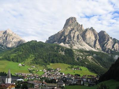 Saas Songher im Gadertal in den Dolomiten / Südtirol