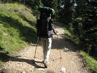 Wanderung auf den Monte Roén