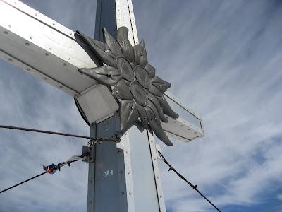 Gipfelkreuz Schwarzenstein