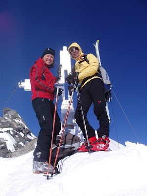 Gipfelkreuz V Hornspitze - Zillertaler Alpen