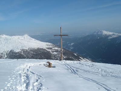 Gipfelkreuz Mutegg - Ultental - Suedtirol