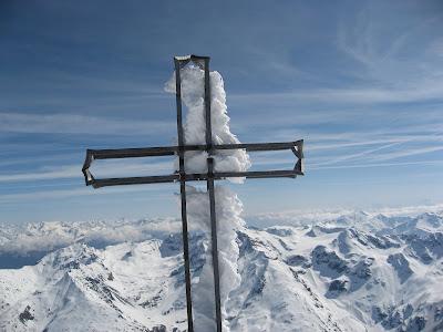 Ortler Gipfelkreuz - Suedtirol
