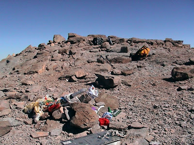Aconcagua Gipfelaufbau