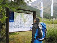 58 neue Tafeln führen durch den Nationalpark Stilfser Joch.