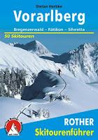 Skitourenfuehrer Vorarlberg / Rother