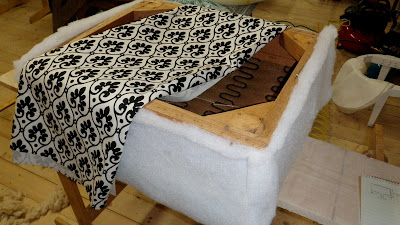 Upholstered Ottoman Project