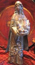 Pilgrim Lady Figurine