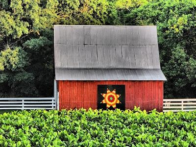 Unusual Kentucky Barn Quilts