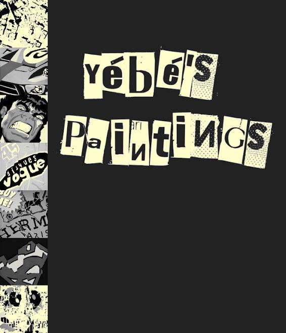 YéBé's paintings
