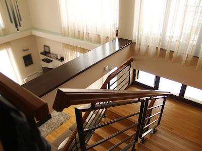 design scara interioara balustrada