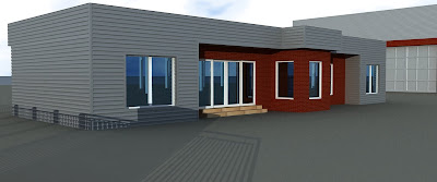 Design exterior cladire