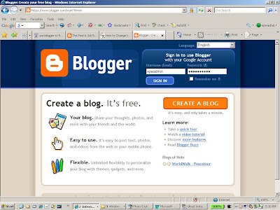 Use Blogger to build your Lead Generation Program