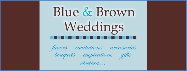 Blue and Brown Wedding Ideas
