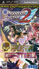 Download Game Phantasy Star Portable 2