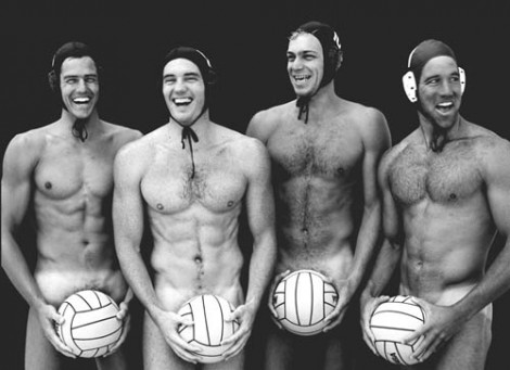 Singapore Water Polo Trunk Pictures on Australian Olympic Men S Water Polo Players  Left To Right  Thomas