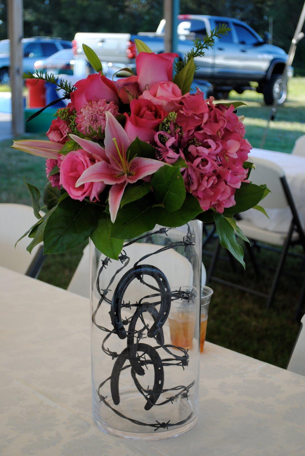 Hot Pink Wedding Centerpieces
