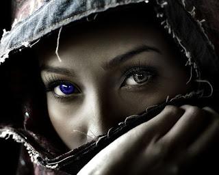 women fantasy eyes blue - photo #11