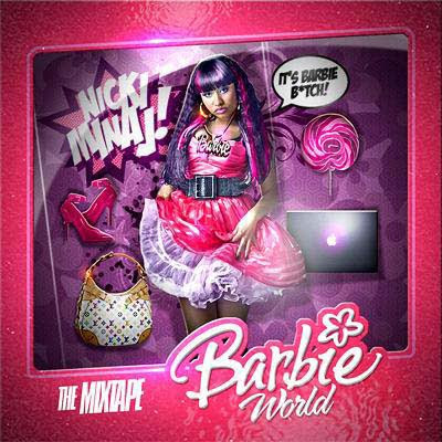 nicki minaj barbie world album cover. Barbie World Intro