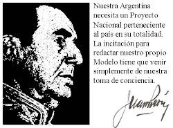 Nuestra Argentina necesita un Proyecto Nacional