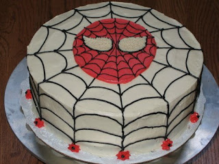 Spiderman Birthday Cake on Cake Place  Spiderman Birthday Cake