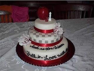 Twilight Movie Birthday Cake