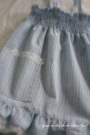 trykk på bildet for oppskrift på sommerkjole til ei lita jente