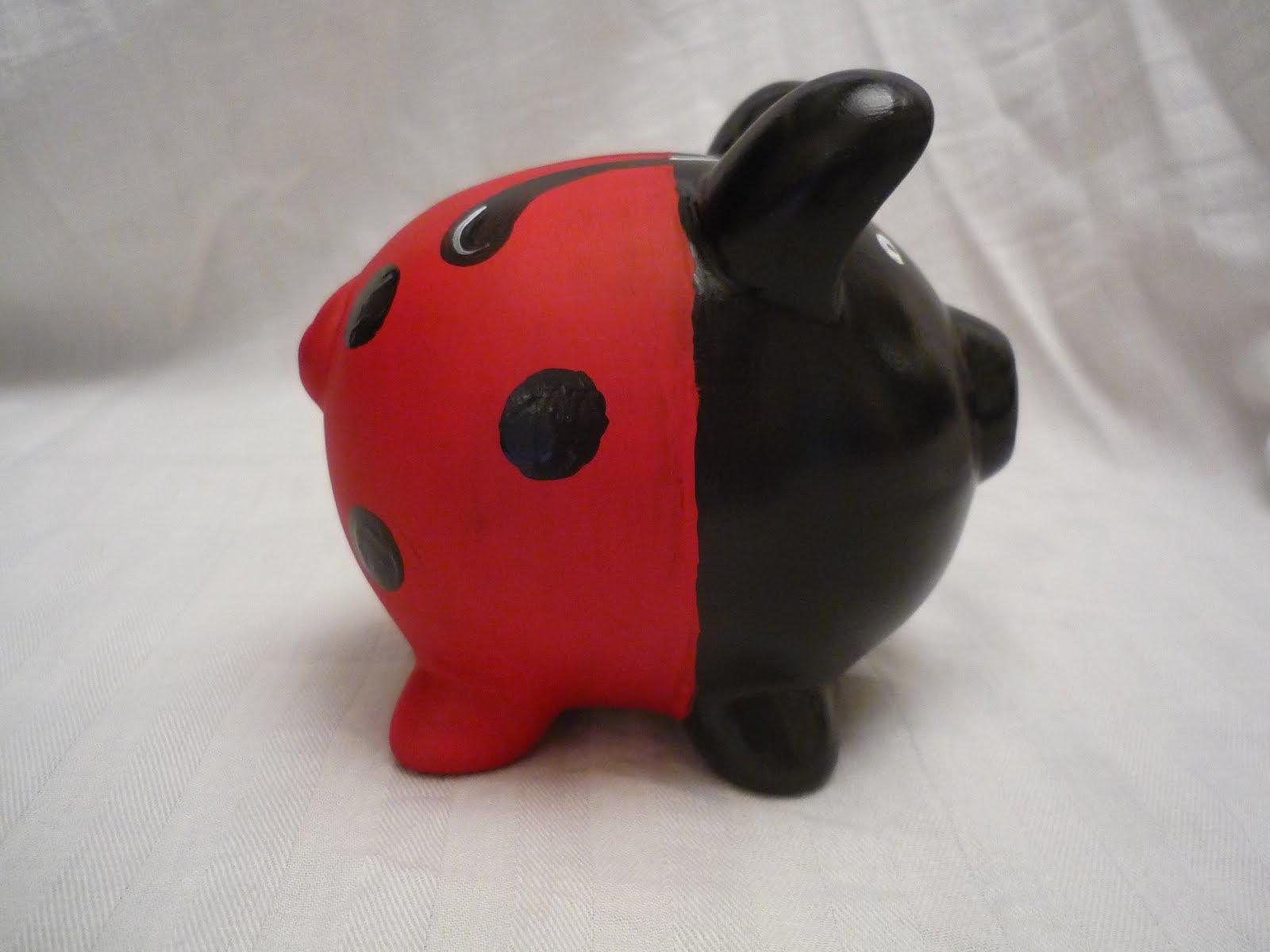 shift - ladybug piggy