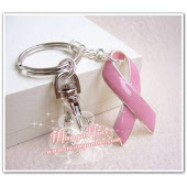 GIVEAWAY PINK RIBBON KEYCHAIN