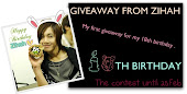 Giveaway From Zihah