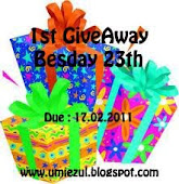 1st GiveAway Besday 23rd