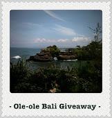 Ole-ole Bali Giveaway 2011