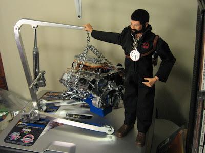 One Sixth 1 6th Working Engine Hoist