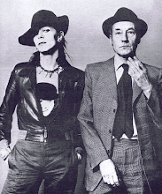 David Bowie e William Burroughs
