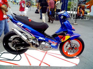 Motorcycle Best Wallpapers: suzuki shogun 125 sp modif