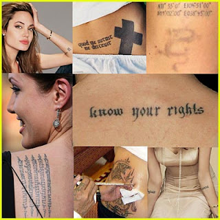angelina jolie tattoo gallerie