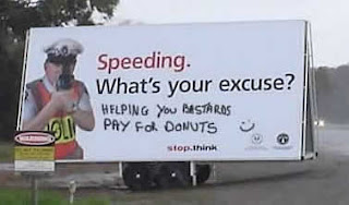 funny cops love donuts