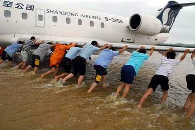 funny dangerous airline photos shandong