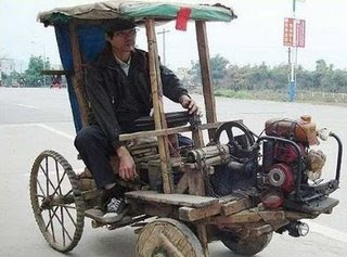 meet the flintsones new car in china