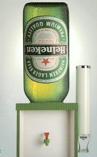 funny beer photos of heineken beer cooler instead of water cooler fun office