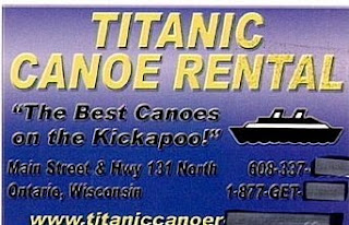 funny ad photos titanic canoe rental bad business names