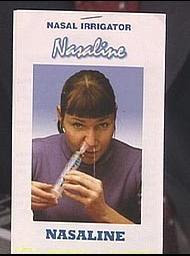 funny ad for nasaline nasal irrigator photo