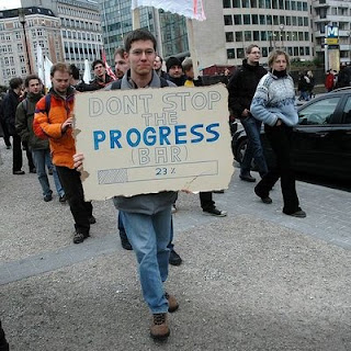 funny dont stop progress bar sign photo