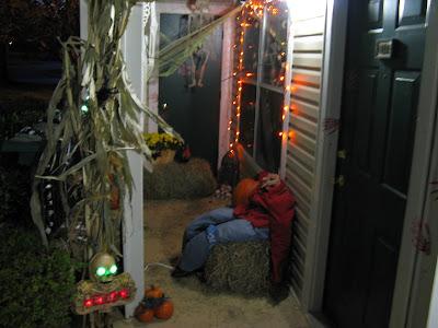 The Manor Messenger Halloween Balcony Decorating Contest