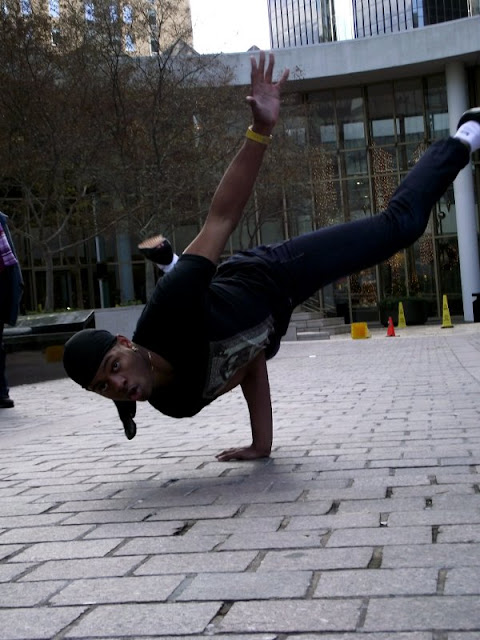 Break dancers in Charlotte NC
